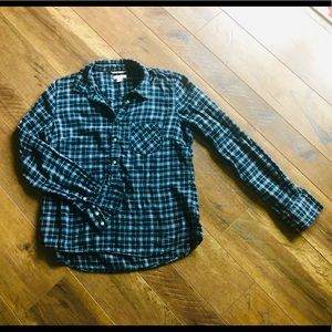 Merona 3/4 button down flannel